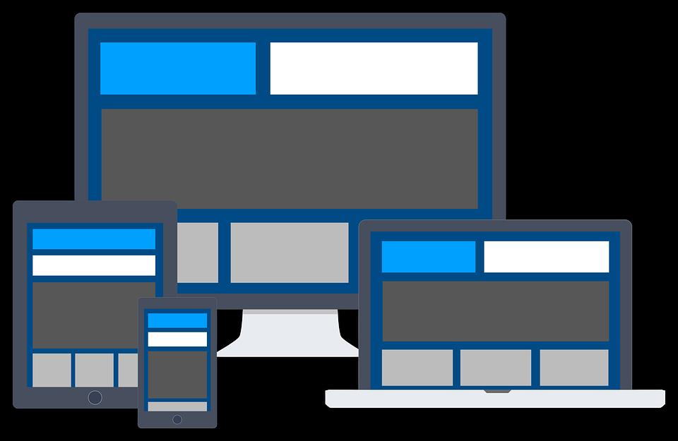 web na zařízeních